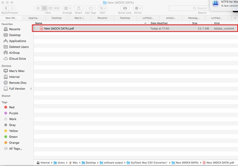 CSV to Adobe PDF
