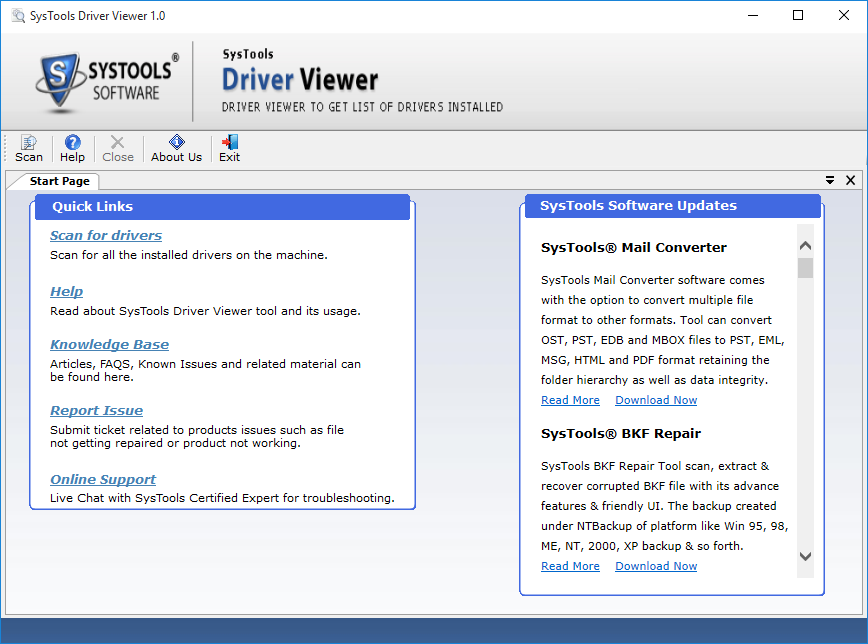 driver viewer tool
