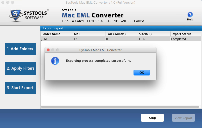 convert EMl files on Mac