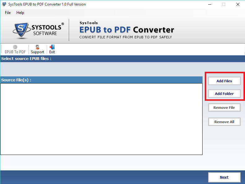 ebooks to pdf converter