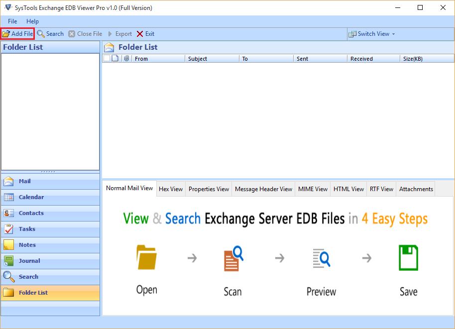 Free Download EDB Reader Software