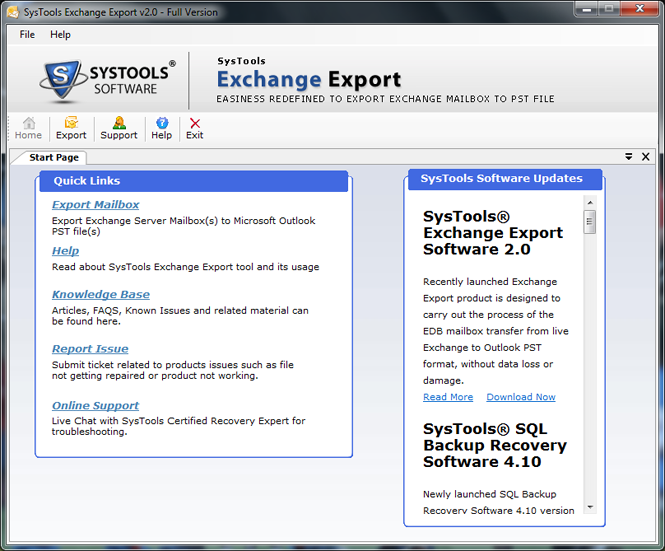 export exchange to pst