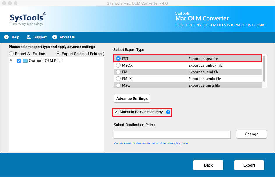 convert OLM to PST tool free download full version