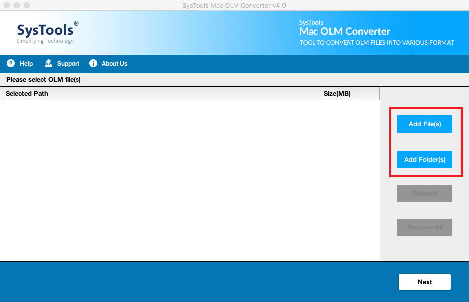 olm to PST Converter freeware