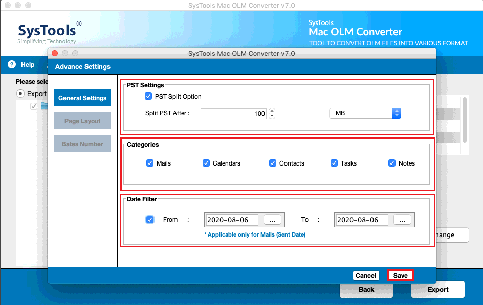Converter for Mac OLM File