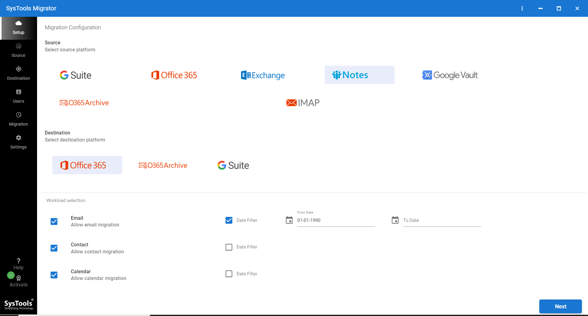 Lotus Notes to Office 365