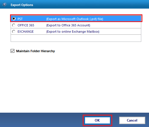 Export Lotus Notes to Outlook PST