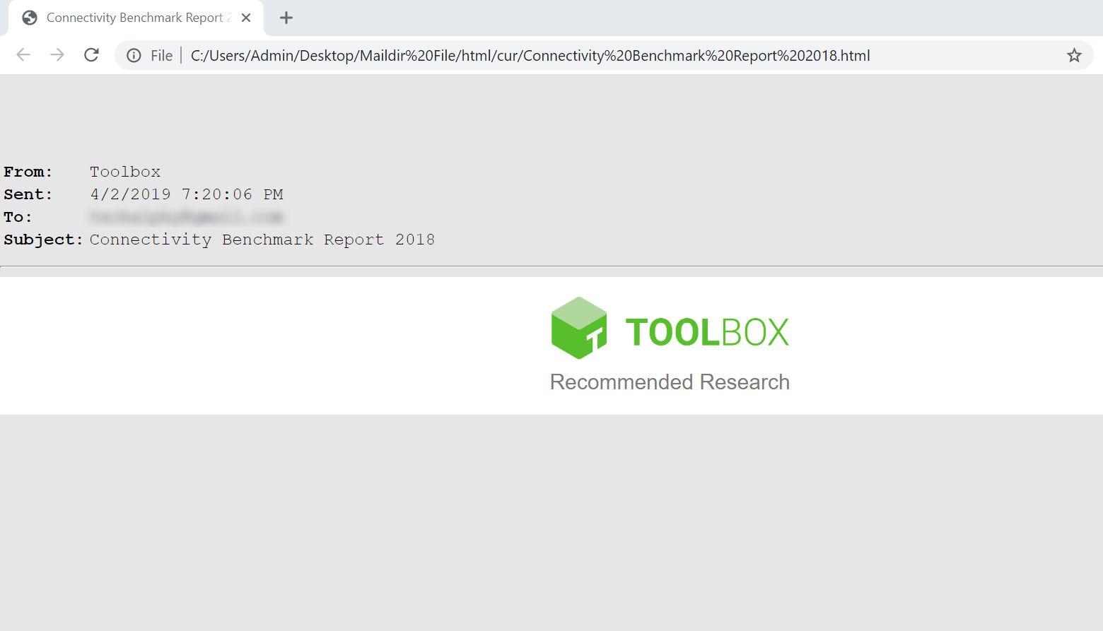 html file