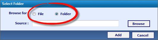 choose file or folder