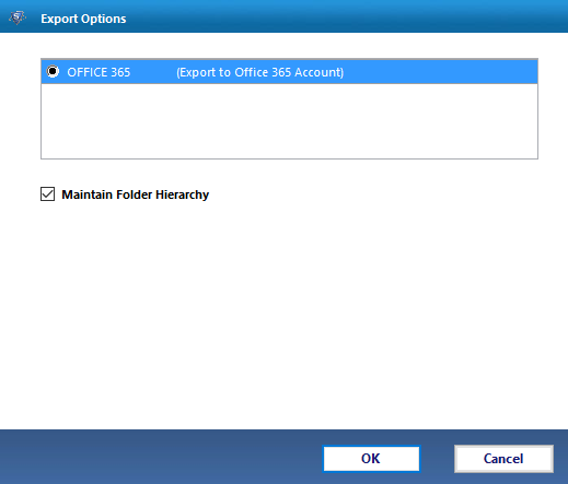 Export MBOX File to O365