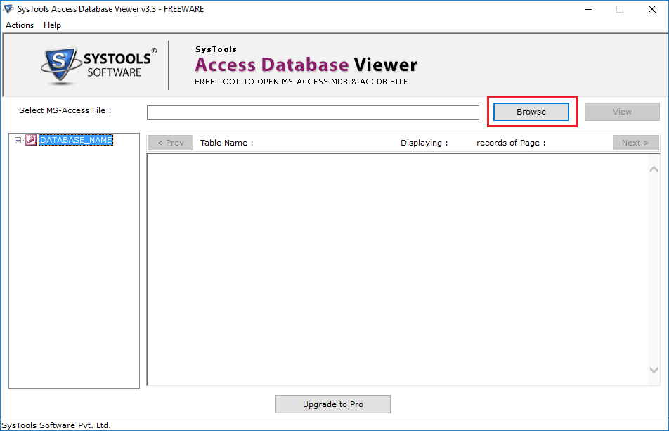 mdb viewer tool