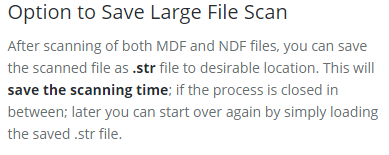 extract corrupted mdf file