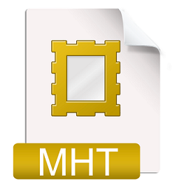 what is MHT file