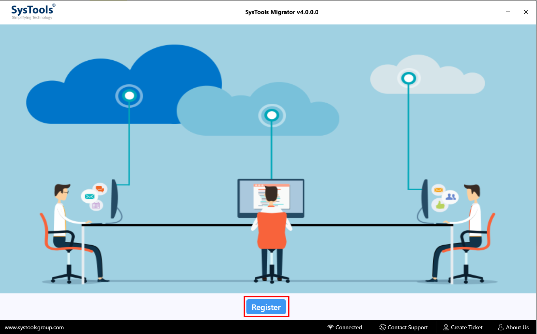 run OneDrive to Google Drive Migrator Software