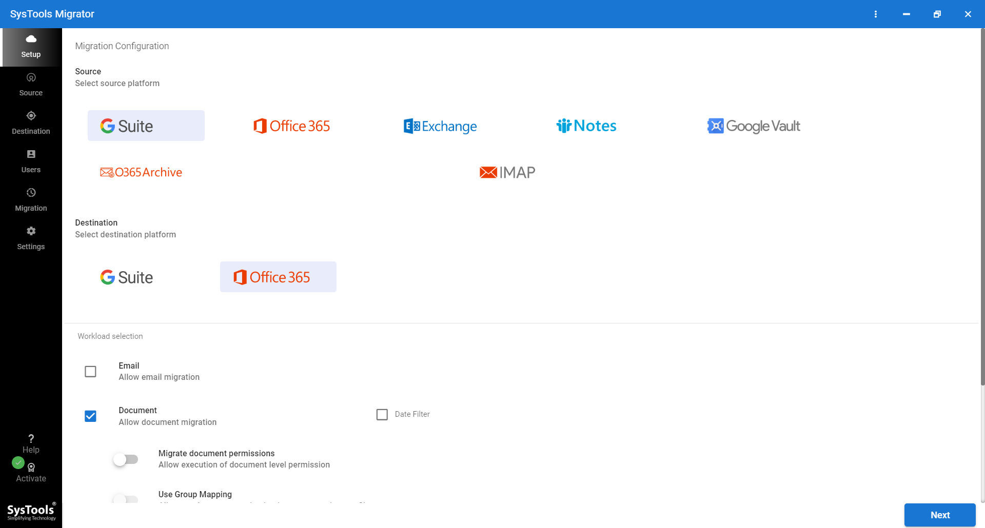 Google Drive to OneDrive Migrator