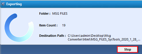 convert outlook msg to html