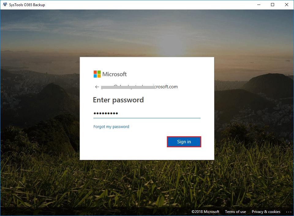 Enter Username Password again