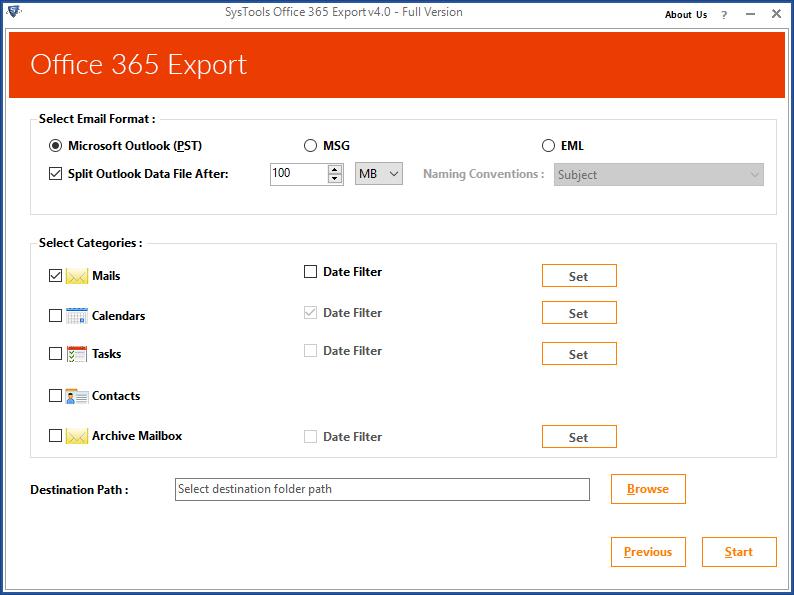 Параметры разделения для Office 365: все псевдонимы