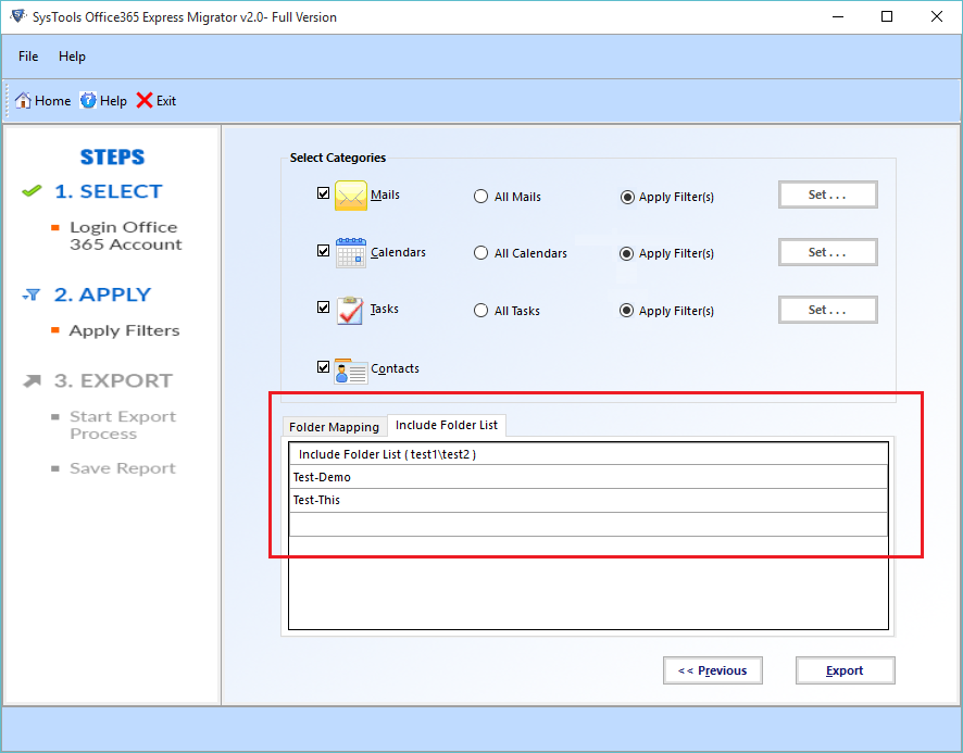 office 365 express migrator, office 365 to office 365 migration, migrate mailbox from office 365