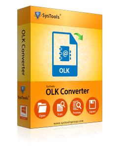 SysTools OLK Converter Software for Windows