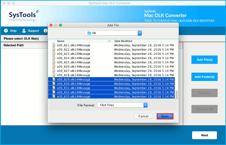 convert OLK15Message file