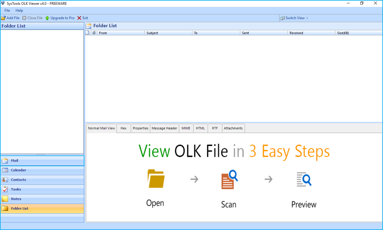 olk15 & olk14message Viewer