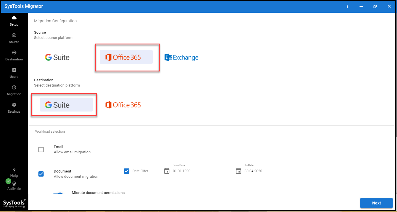 onedrive migration to google drive