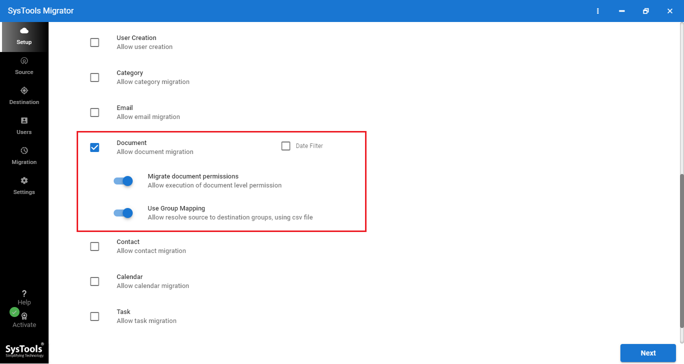 transfer data from onedrive to onedrive