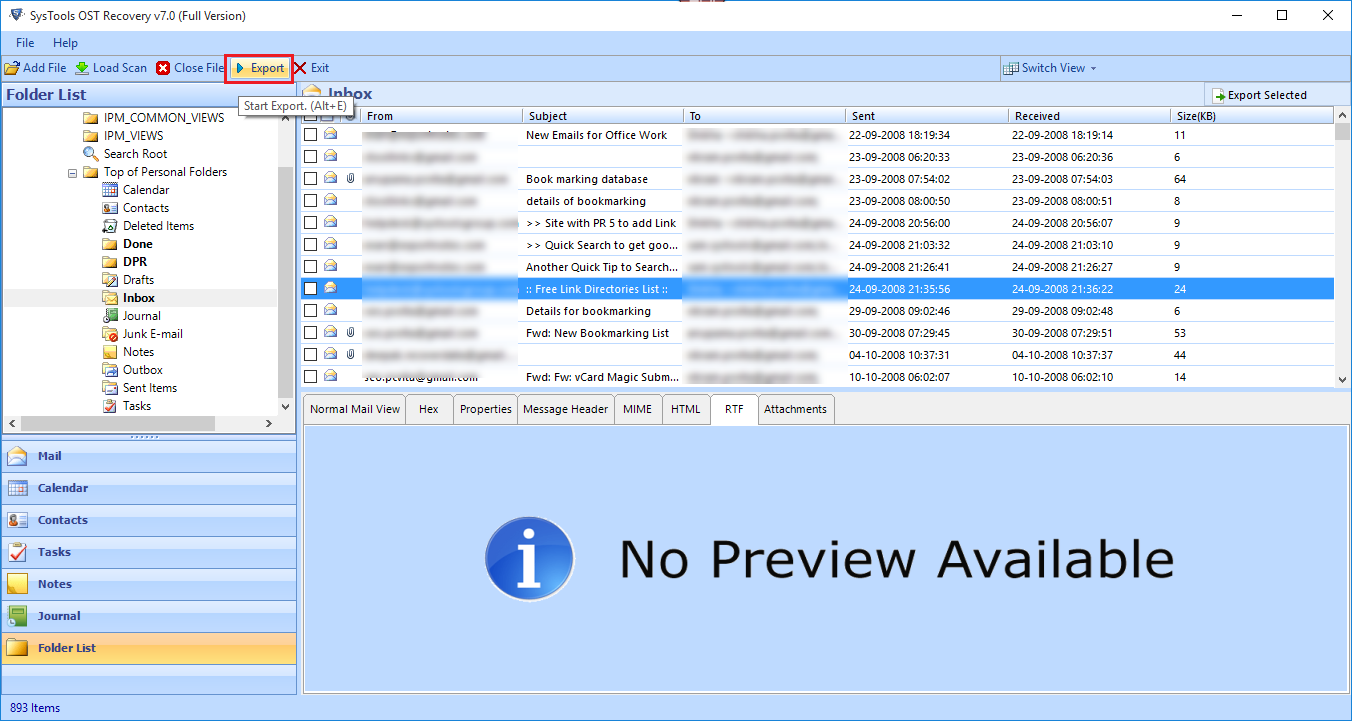 imap to pst in outlook 2010 free