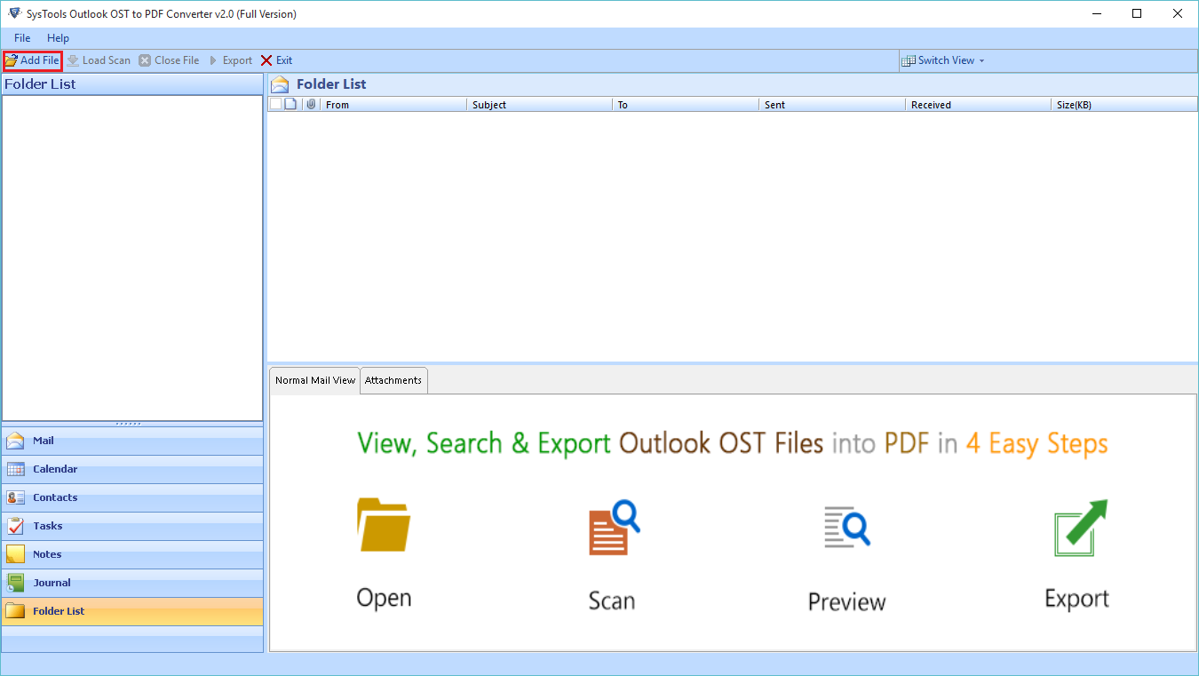 outlook ost to pdf converter