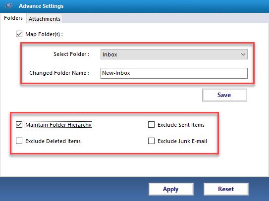 use folder mode