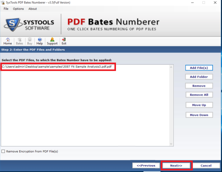 add PDF files for page numbering