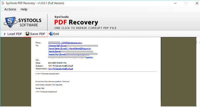 preview recovered pdf file