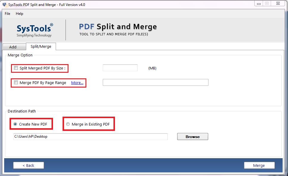hassle free pdf merge tool