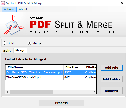 hassle free pdf merger software