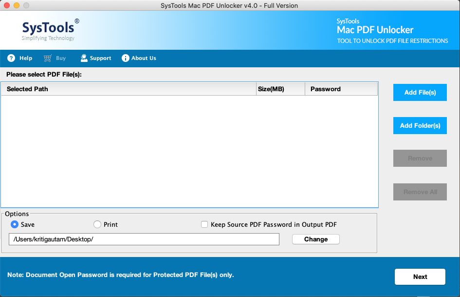 Mac pdf unlocker 4.0
