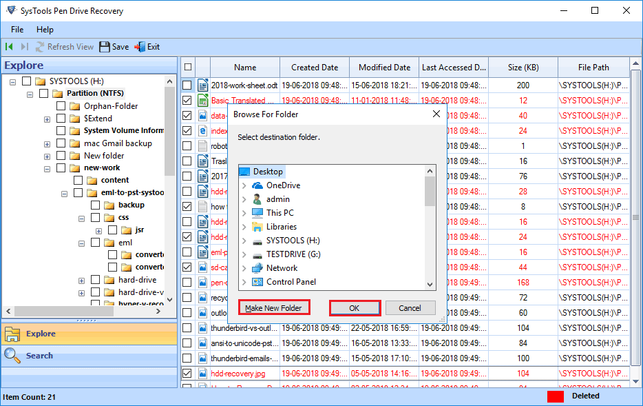 recover permanently deleted data from USB drive
