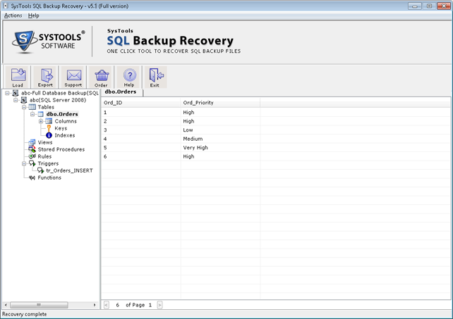 preview sql backup file