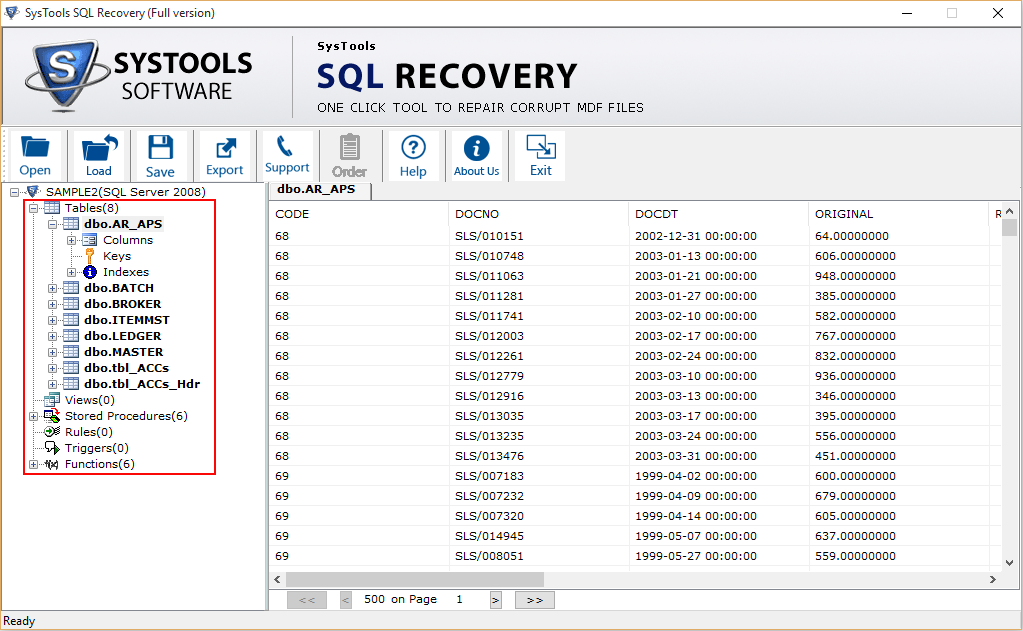 recover deleted items in outlook file
