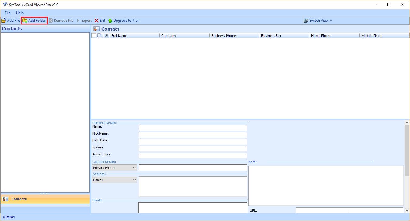 vcf to csv converter free download