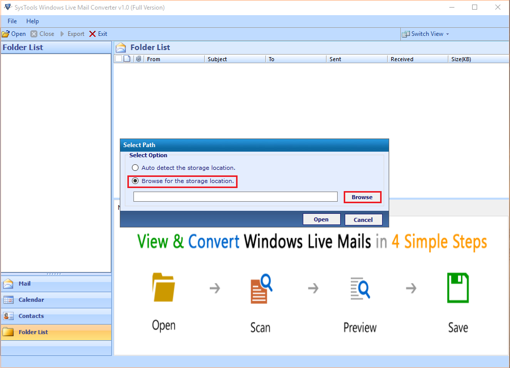 windows live mail emails