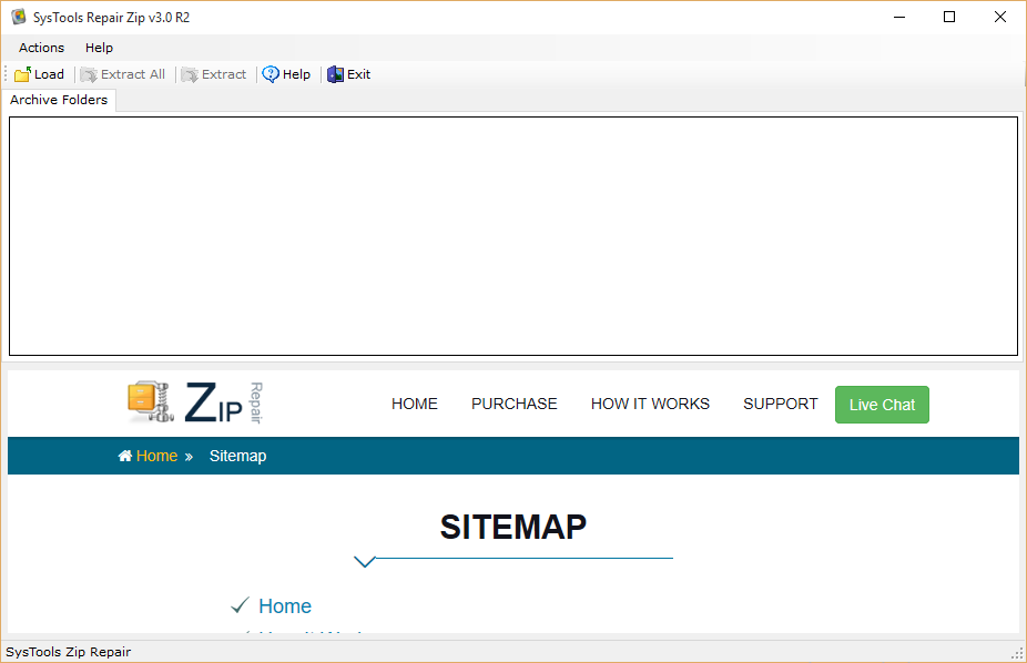 ZIP Repair tool