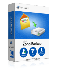 SysTools Zoho Email Backup Software
