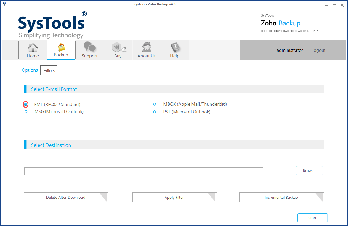migrate from zoho mail to windows live mail
