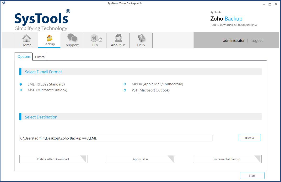 zoho to windows live mail migration