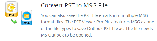 access PST file without Outlook