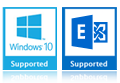 windows 10 and Exchange