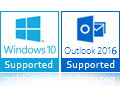 Outlook 2016 Supported