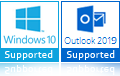 windows 10/Outlook 2019