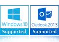 windows 10 Outlook 2013